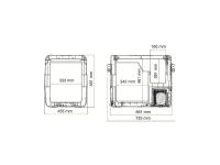 CoolFreeze CFX-50 + дисплей CFX-WD